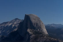 Faces of half dome : Moonrise