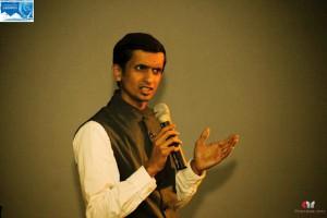 Ashwini unveiling the documentary
