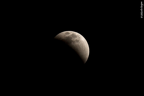 Being Consumed - Total lunar eclipse - December 2011