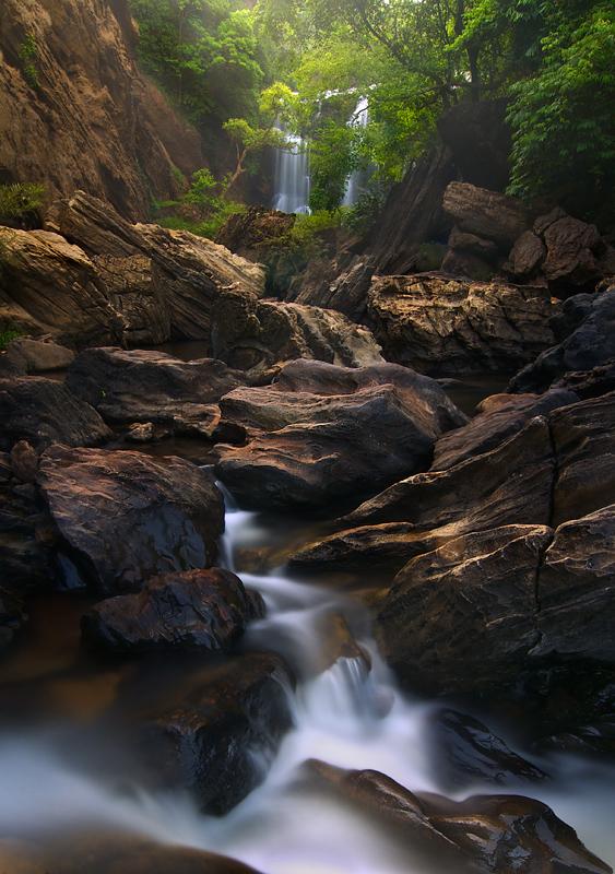 Sathoddi Falls, Karnataka