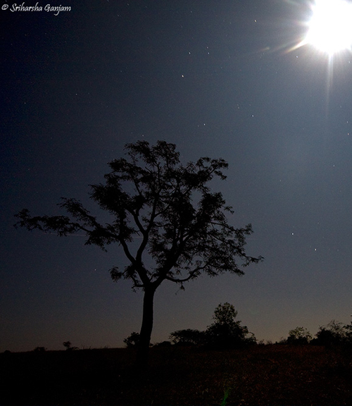 Geminid - Total lunar eclipse - December 2011