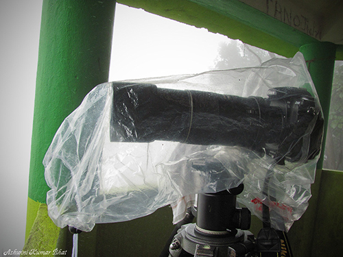 Photography Equipment Weather Protection Illustration