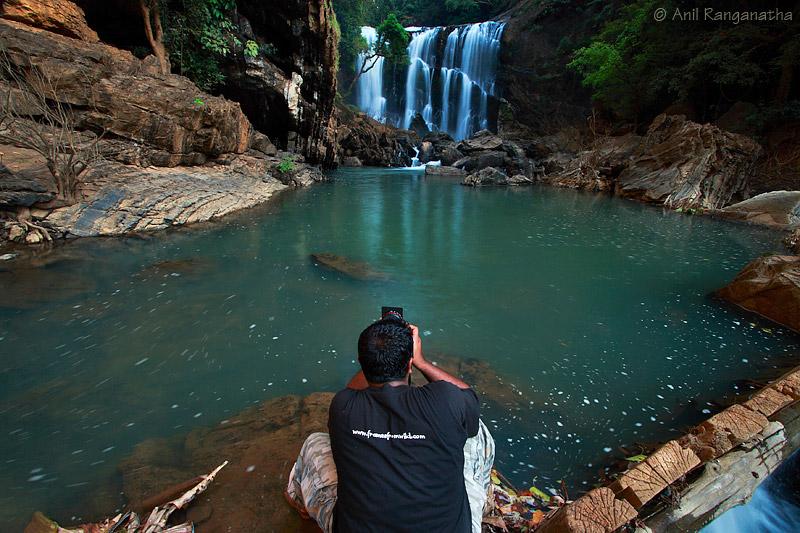 Making waterfalls image