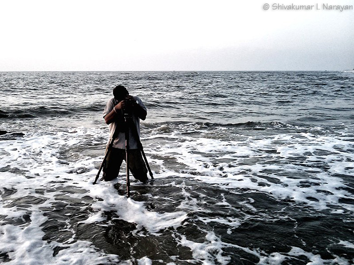 Making seascape images