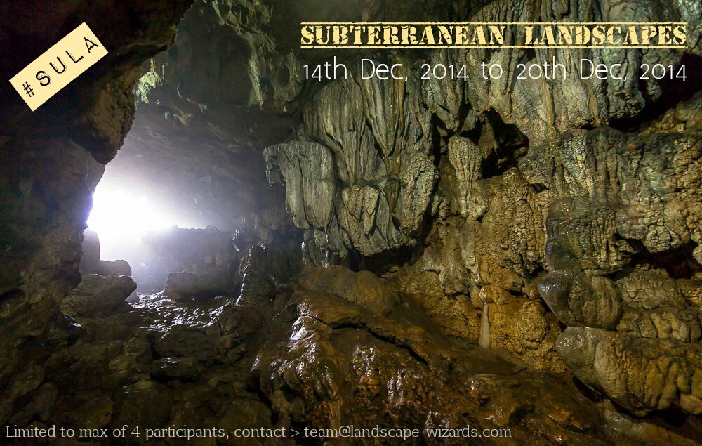 Subterranean landscape expedition 2014